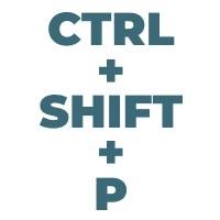 Ctrl Shift P