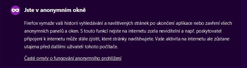 Firefox Anonym