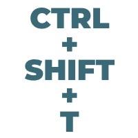 Ctrl Shift T