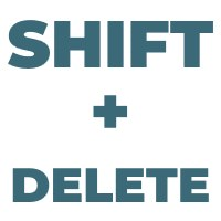 Shift Delete